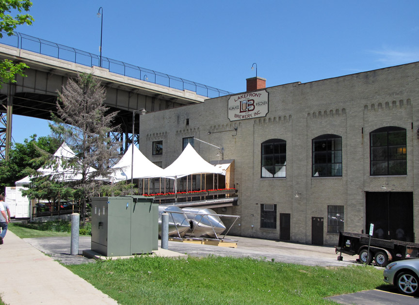 Lakefront Brewery Milwaukee Wisconsin Travel Photos By