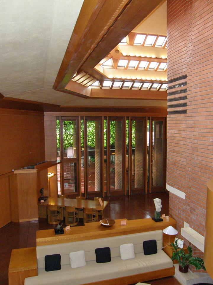 Interior Of Wingspread Johnson House In Racine Wisconsin