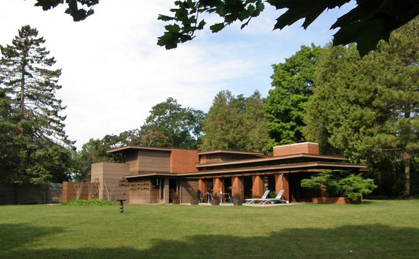 Frank Lloyd Wright Style Homes Wisconsin Homemade Ftempo