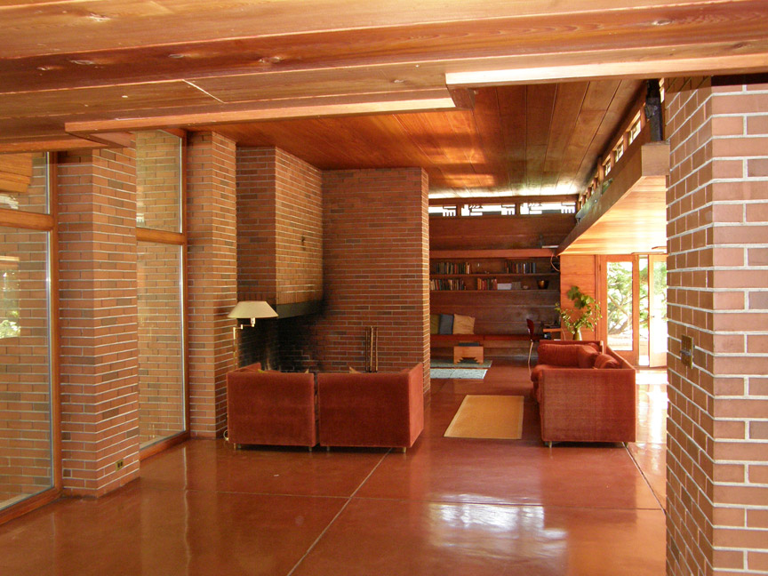 Bernard Schwartz House Designed By Frank Lloyd Wright