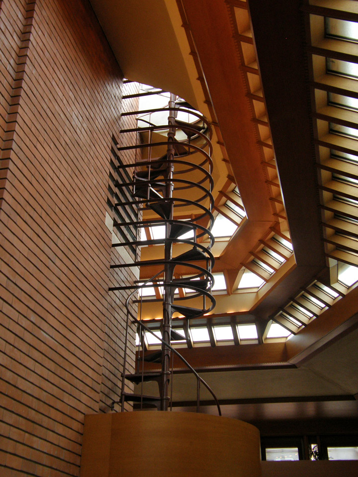 Wingspread, a Frank Lloyd Wright designed house, for Mr ...
