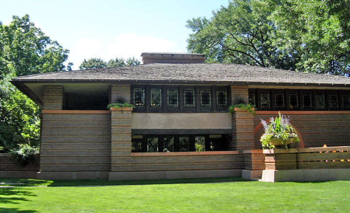 Frank Lloyd Wright Designed Homes In Oak Park Illinois