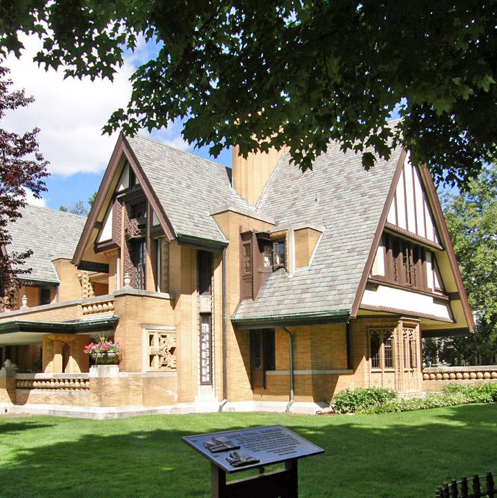 Frank Lloyd Wright Designed Homes In Oak Park, Illinois   Travel .