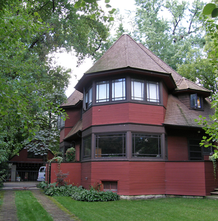 Early Frank Lloyd Wright Home Designs In Oak Park